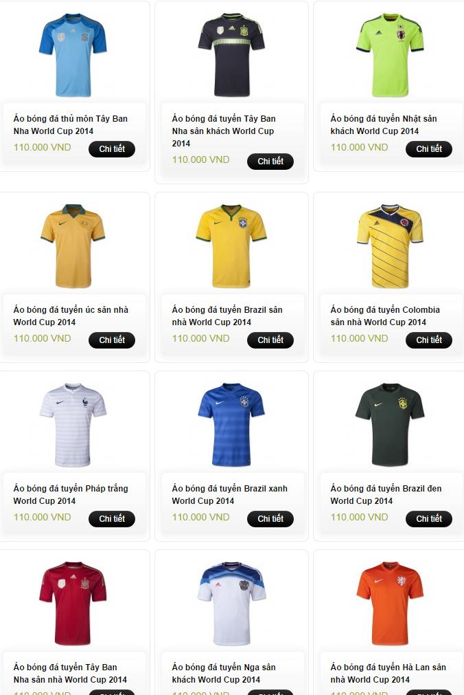 GIANGSPORT - Chuyên áo khoác, áo thể thao Nike, Adidas, áo bóng đá CLB&QG 2015 - 6
