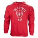 Áo khoác CLB Arsenal hoody đỏ 2013
