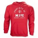 Áo khoác CLB Manchester United hoody đỏ - 2013