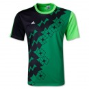 Áo ko logo Adidas Predator xanh (Đặt may)