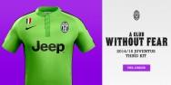 CLB Inter Juven sân khách xanh lá 2014 2015 (Đặt may)