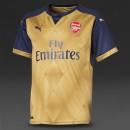 CLB Arsenal vàng sân khách 2015 2016 (Made in Thailand)