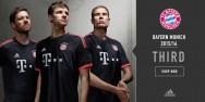 Áo thi đấu Bayern Munich đen cúp C1 2015 2016