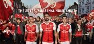Áo bóng đá Arsenal 2016 2017 sân nhà
