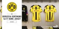 Áo bóng đá Dortmund vàng 2016 2017