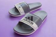 Dép Adidas Adilette Plus xám hàng VNXK