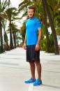 Áo thun David Beckham xanh bích