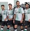 Đồng phục bóng đá Liverpool trắng sân khách 2017 2018