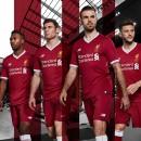 Đồng phục bóng đá Liverpool đỏ sân nhà 2017 2018