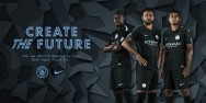 Áo thi đấu Manchester Mancity third kit 2017 2018 - MADE IN THAILAND