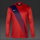 Áo thi đấu ko logo Nike Sash tay dài các màu (Đặt may)