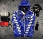 Áo khoác gió Adidas Neo Camouflage Windbreaker xanh