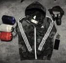 Áo khoác gió Adidas Neo Camouflage Windbreaker đen