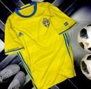 Tuyển Thụy Điển Euro 2016 sân nhà (Made in Thailand) - Size M