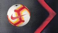 Banh bóng đá sân cỏ Nike Premier League Ordem 2018 cam