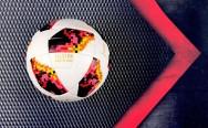Banh bóng đá Adidas Telstar World Cup 2018 đỏ