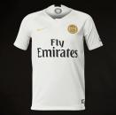 Quần áo thi đấu PSG trắng xám sân khách 2019