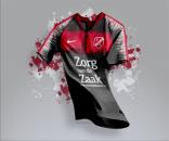 Áo thi đấu không logo Fc Utrecht jersey 2019 - Code 01