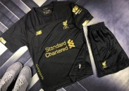 CLB Liverpool mùa giải mới 2019 - 2020 đen (Made in Thailand)