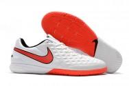 Giày đá banh Nike Tiempo Legend VIII Pro trắng cam IC