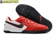 Giày đá banh Nike Tiempo Legend VIII Pro đỏ trắng IC