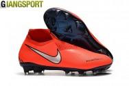 Giày sân cỏ tự nhiên Nike Phantom VSN & VNM đỏ