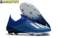 Giày sân cỏ tự nhiên Adidas X19 navy FG