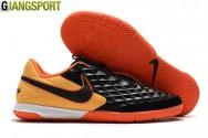 Giày sân futsal Nike Tiempo Legend VIII Academy đen cam IC