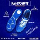 Giày đá bóng Kamito Quang Hải 019 xanh trắng TF (Chính hãng)