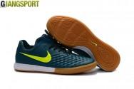 Giày Futsal Nike Magistar Finale II xanh rêu IC