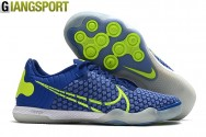 Giày sân futsal Nike Lunar Reactgato xanh IC