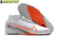 Giày sân cỏ nhân tạo Nike Mercurial Superfly 7 Elite trắng cam TF