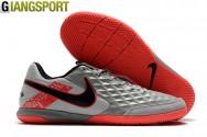 Giày sân futsal Nike Tiempo Legend VIII bạc IC