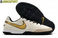 Giày sân futsal Nike Legend VIII trắng IC