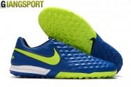 Giày sân cỏ nhân tạo Nike Tiempo Legend VIII Pro xanh TF