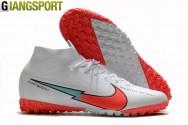 Giày sân cỏ nhân tạo Nike Mercurial Superfly 7 Elite trắng TF