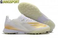 Giày sân cỏ nhân tạo Adidas X Ghosted sọc vàng TF
