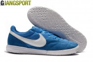 Giày đá banh Nike Premier Sala II xanh IC