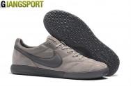 Giày futsal Nike Premier II xám IC