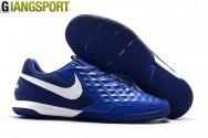 Giày đá banh Nike Tiempo Lunar Legend VIII Pro xanh IC - Size 39