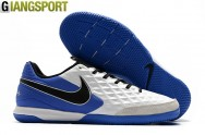 Giày sân futsal Nike Supreme X SB Gato trắng xanh IC