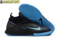 Giày sân futsal Nike React Phantom Vision Pro Dynamic Fit đen IC