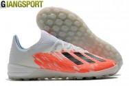 Giày sân cỏ nhân tạo Adidas X 19.1 trắng cam TF