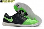 Giày sân futsal Nike Lunar Gato II xanh lá IC