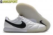 Giày sân futsal Nike Premier trắng đen IC