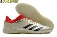 Giày sân futsal Adidas Predator trắng IC