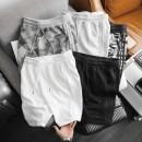 Quần shorts Adidas nỉ - trắng