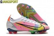 Giày sân cỏ tự nhiên Nike Mercurial Vapor 14 Elite trắng FG