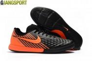 Giày Futsal Nike Magistar Finale II đế đen cam IC