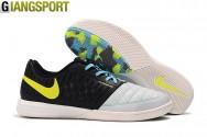 Giày futsal Nike Lunar Gato II trắng đen IC - Size 43, 45